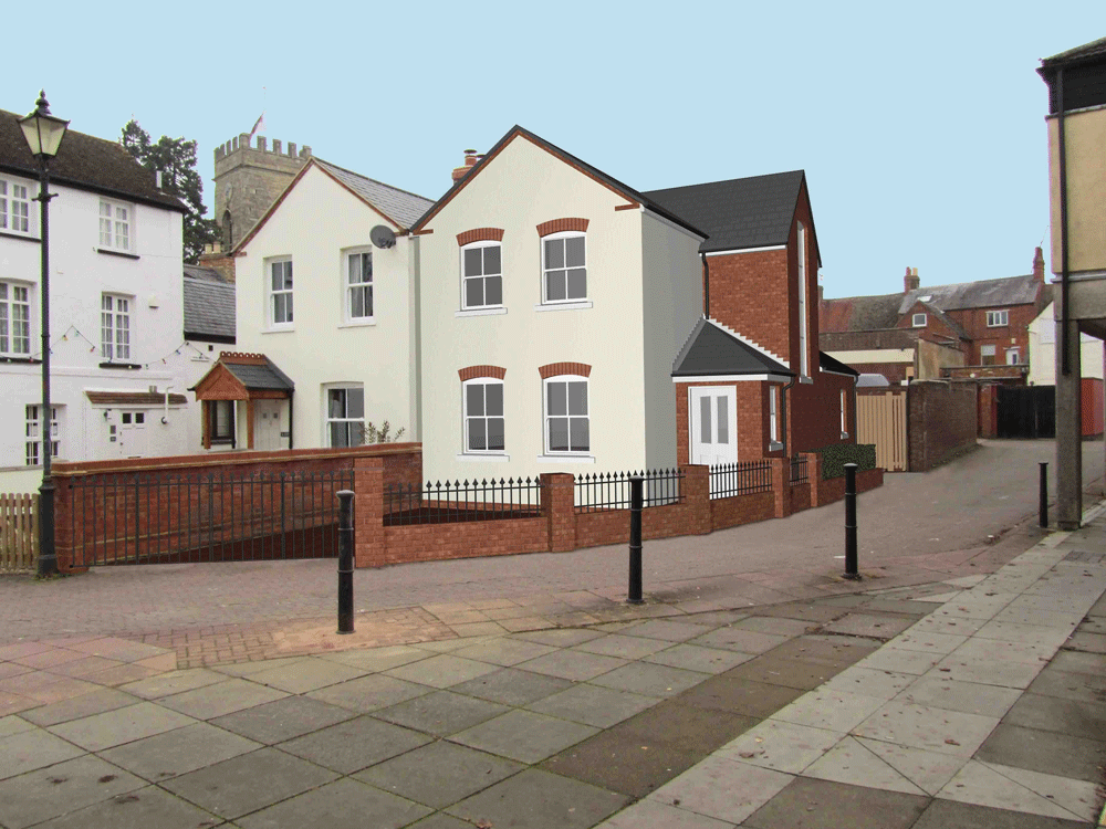 Town centre self build home