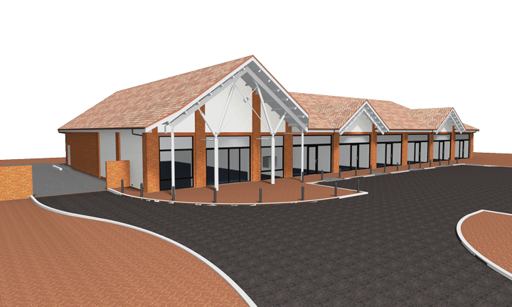 Retail park development